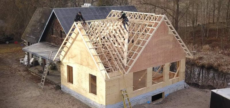 Constructing a custom home