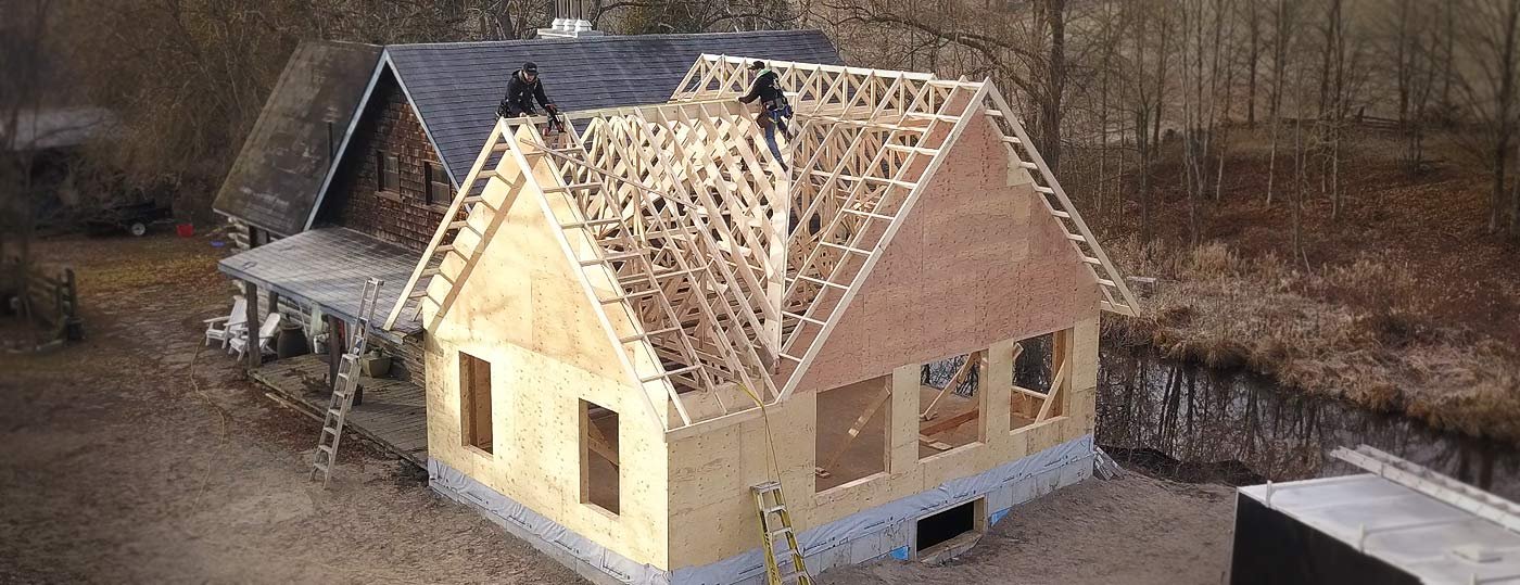 Custom home addition in Peterborough
