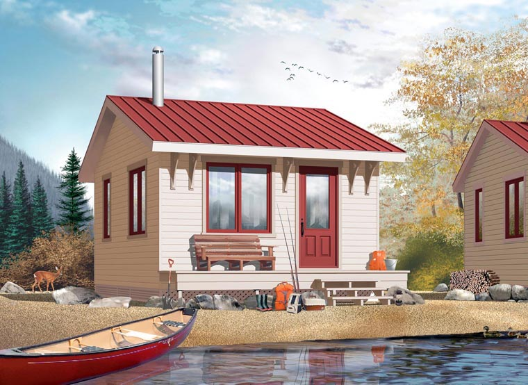 cute cottage Bunkie exterior